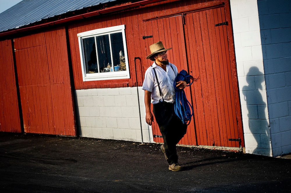 Amish, Lancaster county, Pennsylvania..Sam Riehl..Photographer: Chris Maluszynski /MOMENT