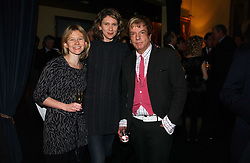 Left to right, sisters HELEN MORRIS, CAMILLA MORRIS daughters of John Madejski and NICKY HASLAM at a reception to support The Hyde Park Appeal at the Officers Mess, Hyde Park Barracks, London SW1 on 24th January 2007.<br /><br />NON EXCLUSIVE - WORLD RIGHTS