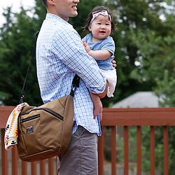 July 2, 2016; Seattle, WA USA; Tom Bihn bags: Parental Unit. Credit: Joe Nicholson Photography