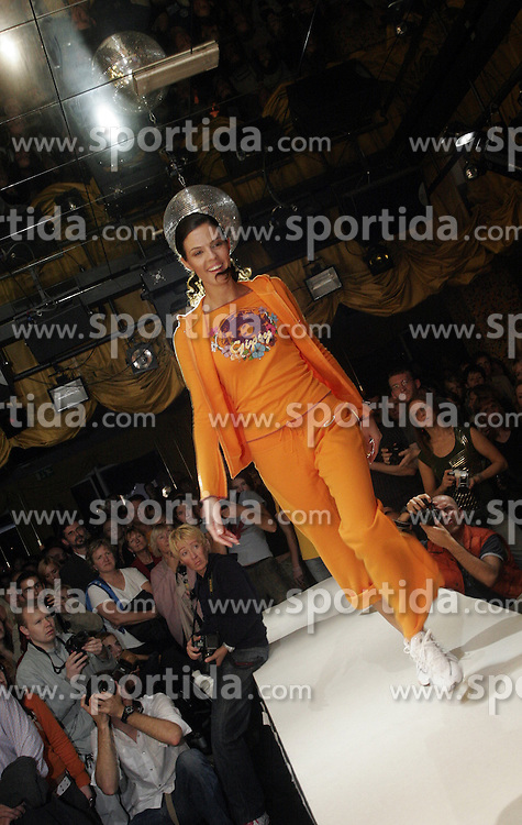 Woman at fashion show. (Photo by Vid Ponikvar / Sportal Images)