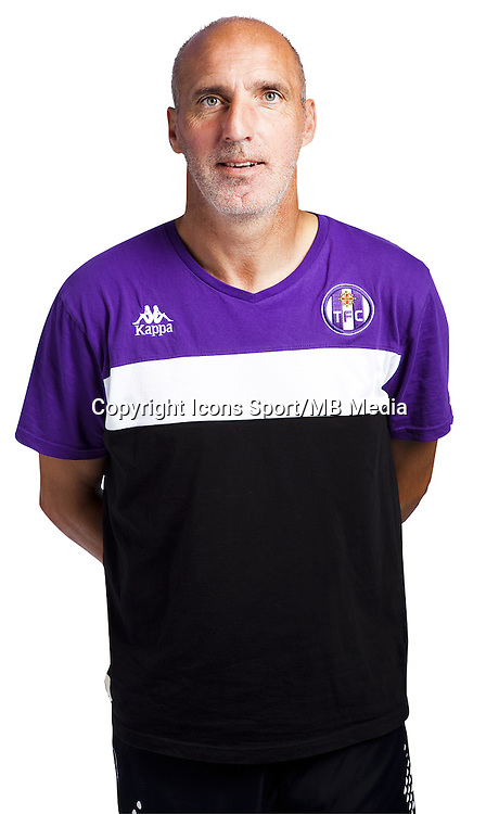 Christophe Gardie - 03.10.2014 - Portrait Officiel - Toulouse - Ligue 1<br /> Photo : Saada / Icon Sport
