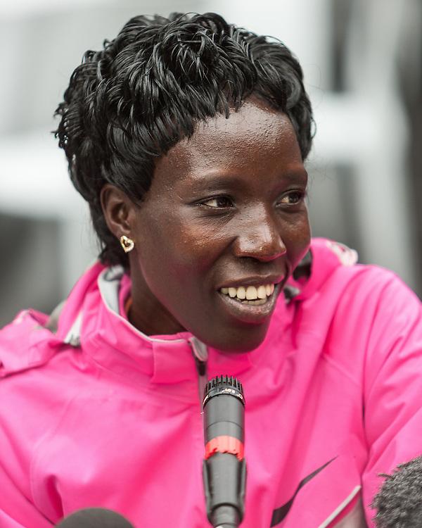 ING New York City Marathon: Edna Kiplagat, Kenya