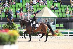 Trussell, Belinda (CAN) Anton<br /> Rio de Janeiro - Olympische Spiele 2016<br /> Grand Prix de Dressage 2. Teil<br /> © www.sportfotos-lafrentz.de / Stefan Lafrentz