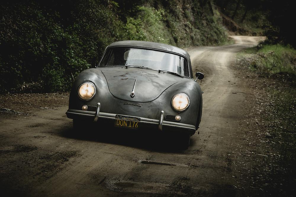 Matt Hummel, 1956 Porsche 356. Auburn, CA   Christophorus The Porsche Magazine