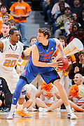KNOXVILLE, TN - JANUARY 7: Erik Murphy #33 of the Florida Gators looks to the basket against the Tennessee Volunteers at Thompson-Boling Arena on January 7, 2012 in Knoxville, Tennessee. Tennessee defeated Florida 67-56. (Photo by Joe Robbins) *** Local Caption *** Erik Murphy