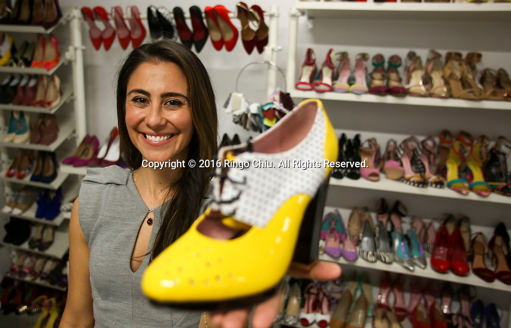 Jodie Fox, cofounder of custom footwear company Shoes of Prey.<br /> (Photo by Ringo Chiu/PHOTOFORMULA.com)<br /> <br /> Usage Notes: This content is intended for editorial use only. For other uses, additional clearances may be required.