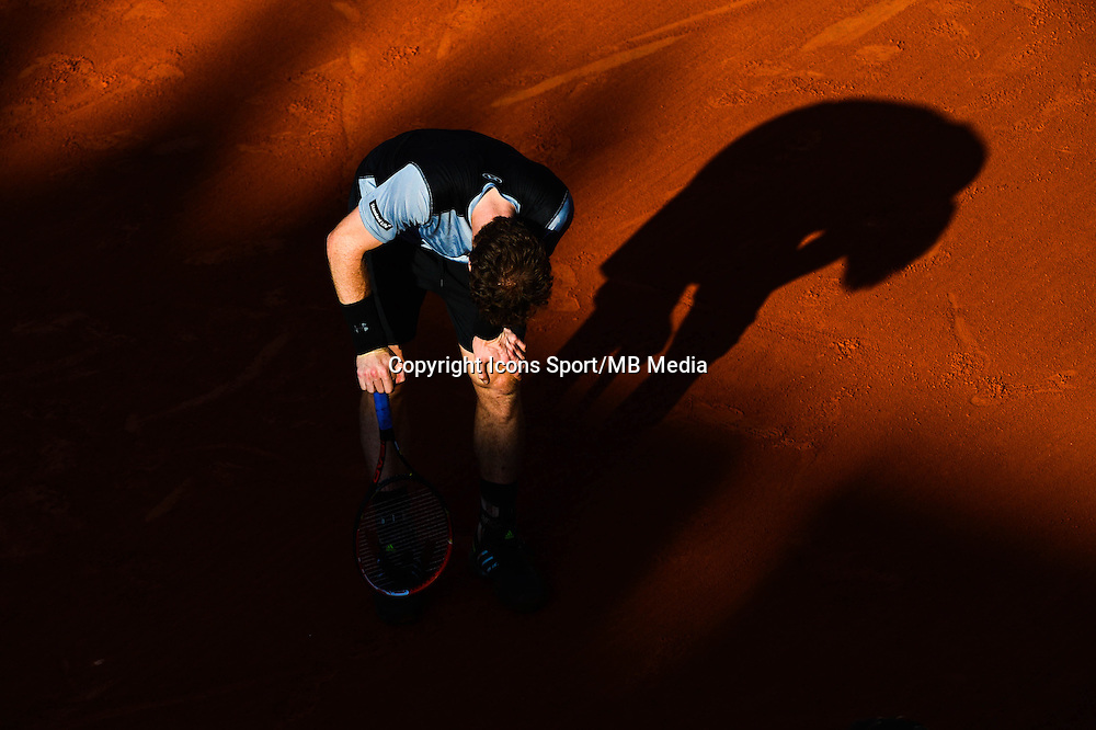 Andy MURRAY - 03.06.2015 - Jour 11 - Roland Garros 2015 <br />