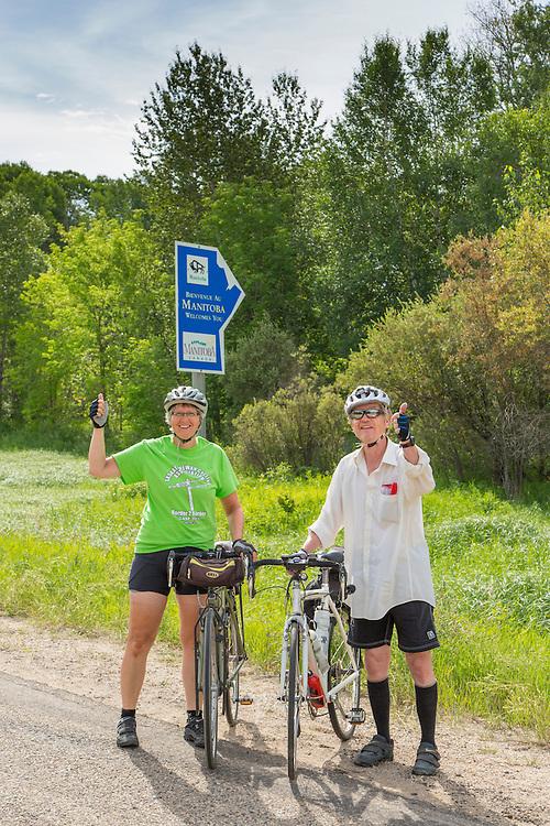 Highway 3, Saskatchewan-Manitoba Border, Day 7.