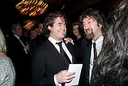 Rupert Goold; Trevor Nunn, The Laurence Olivier Awards,The Grosvenor House Hotel, Park Lane. London.   21 March  2010