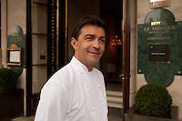Chef Yannick Elleno, le Meurice