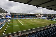 The Den before the Sky Bet League 1 match between Millwall and Blackpool at The Den, London, England on 5 March 2016. Photo by David Charbit.
