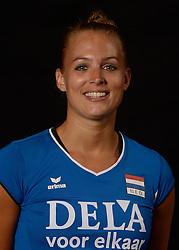 25-06-2013 VOLLEYBAL: NEDERLANDS VROUWEN VOLLEYBALTEAM: ARNHEM<br /> Selectie Oranje vrouwen seizoen 2013-2014 / Kim Renkema<br /> &copy;2013-FotoHoogendoorn.nl