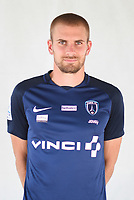 Thomas Delaine during photoshooting of Paris FC for new season 2017/2018 on October 17, 2017 in Paris, France<br /> Photo : Stephane Valade / Icon Sport