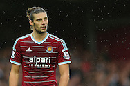 Andy Carroll of West Ham United during the Barclays Premier League match at the Boleyn Ground, London<br /> Picture by Richard Calver/Focus Images Ltd +447792 981244<br /> 07/12/2014