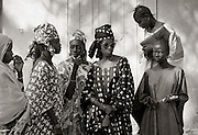 Village women - Podor Senegal