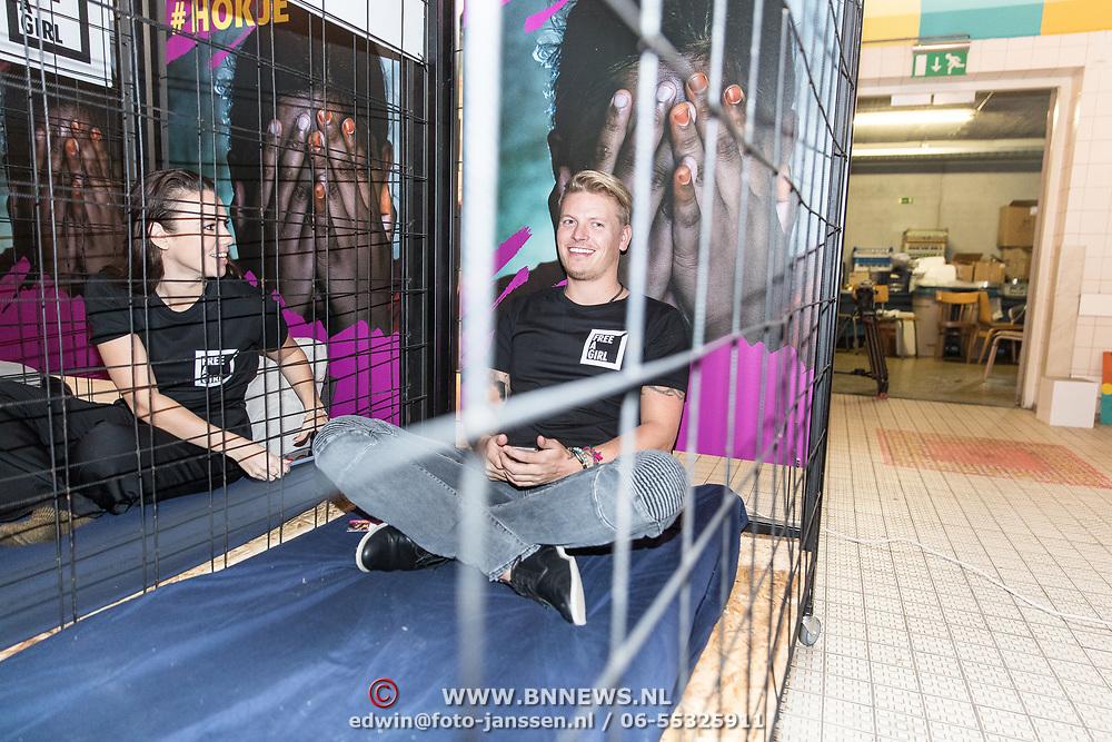 NLD/Amsterdam/20181105 - Lock me Up actie 2019, Thoas Berge