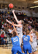 November 9, 2013: The York College Panthers play against the Oklahoma Christian University Lady Eagles for the homecoming game in the Eagles Nest on the campus of Oklahoma Christian University.