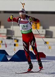 23.01.2011, Südtirol Arena, Antholz, ITA, IBU Biathlon Worldcup, Antholz, Relay Men, im Bild Ole Einar Bjoerndalen (NOR) // Ole Einar Bjoerndalen (NOR) during IBU Biathlon World Cup in Antholz, Italy, EXPA Pictures © 2011, PhotoCredit: EXPA/ J. Feichter