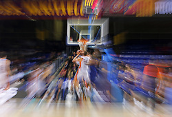 November 17, 2017 - Barcelona, Catalonia, Spain - FC Barcelona attack during the match between FC Barcelona v Anadolou Efes corresponding to the week 8 of the basketball Euroleague, in Barcelona, on November 17, 2017. (Credit Image: © Joan Valls/NurPhoto via ZUMA Press)