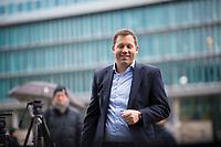 DEU, Deutschland, Germany, Berlin,03.02.2018: SPD-Generalsekretär Lars Klingbeil kommt zu den Koalitionsverhandlungen zwischen CDU/CSU und SPD im Konrad-Adenauer-Haus.
