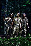 The Three Soldiers, Vietnam Veterans Memorial, Washington DC, USA