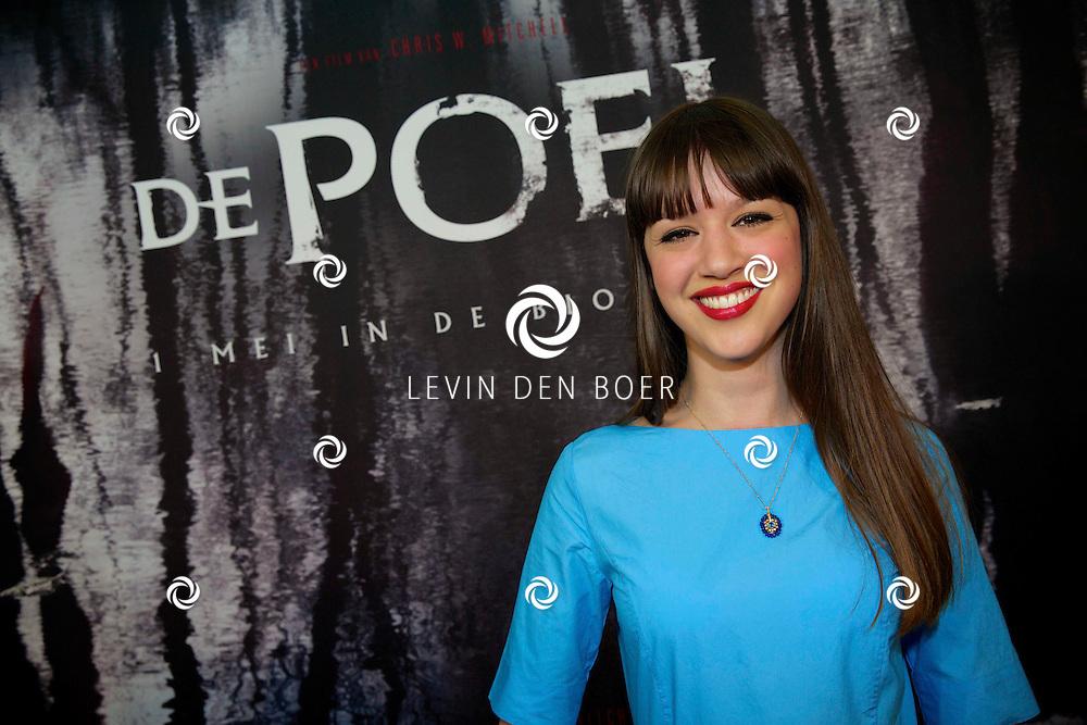 AMSTERDAM - In het EYE is de filmpremière van 'De Poel' is gehouden. Met op de rode loper   Jamie Grant. FOTO LEVIN DEN BOER - PERSFOTO.NU
