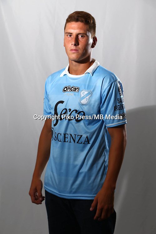 CAMPEONATO ARGENTINO Soccer / Football. <br /> TEMPERLEY Portraits <br /> Bs.As. Argentina. - March 18, 2015<br /> Here Temperley player Enzo Ruiz<br /> &copy; PikoPress