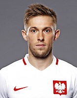 Uefa - World Cup Fifa Russia 2018 Qualifier / <br /> Poland National Team - Preview Set - <br /> Maciej Rybus
