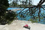 Kukljica, Ile de Ugljan, Croatie. / Kukljica, Island Ugljan, Croatia.