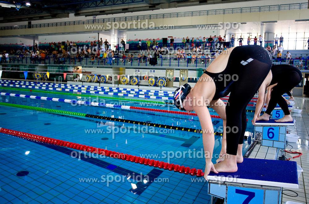 Anja Klinar at International Swimming competition of Kranj, on June 14, 2009, in Olympic pool, Kranj, Slovenia. (Photo by Vid Ponikvar / Sportida)