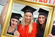 Ludwigshafen. 14.07.17 | Studienabschlussfeier <br /> Pfalzbau. Studienabschlussfeier der Hochschule Ludwigshafen am Rhein.<br /> - Absolventinnen. v.l. Miriam Hartmann, Margarita Decker, Zeinab Salman<br /> <br /> BILD- ID 0060 |<br /> Bild: Markus Prosswitz 14JUL17 / masterpress (Bild ist honorarpflichtig - No Model Release!)
