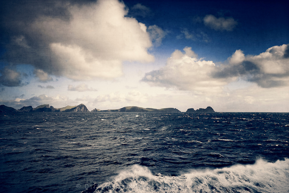On a boat to the neighboring island Porto Santo on a stormy day. One can see the peninsula of Sao loerenco, Madeira.<br /> Prints: http://society6.com/DirkWuestenhagenImagery/Rough-Crossing_Print