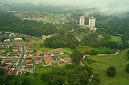 Bosques de Clayton Residential Area with Clayton Park towers. Clayton. Panama.