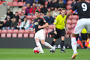 Manchester United Regan Poole during the Barclays U21 Premier League match between U21 Southampton and U21 Manchester United at the St Mary's Stadium, Southampton, England on 25 April 2016. Photo by Phil Duncan.