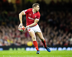 Dan Biggar of Wales<br /> <br /> Photographer Simon King/Replay Images<br /> <br /> Six Nations Round 1 - Wales v Italy - Saturday 1st February 2020 - Principality Stadium - Cardiff<br /> <br /> World Copyright © Replay Images . All rights reserved. info@replayimages.co.uk - http://replayimages.co.uk