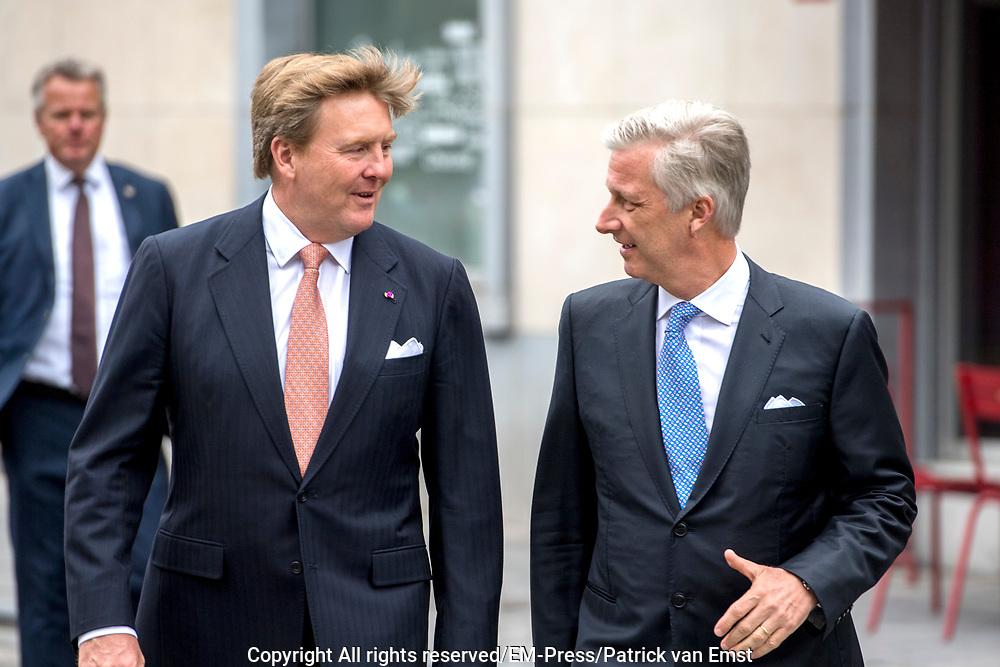 Koning Willem Alexander Bij Zestigste Verjaardag Benelux Em Press