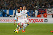 Jordan Amavi of Olympique de Marseille during the French Championship Ligue 1 football match between Olympique de Marseille and Olympique Lyonnais on march 18, 2018 at Orange Velodrome stadium in Marseille, France - Photo Philippe Laurenson / ProSportsImages / DPPI