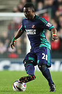 Picture by David Horn/Focus Images Ltd +44 7545 970036.25/09/2012.Stephane Sessegnon of Sunderland during the Capital One Cup match at stadium:mk, Milton Keynes.