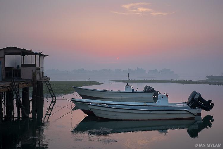 Boats at Dawn - Bahrain