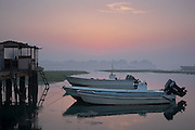 Boats at Dawn - Bahrain