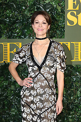 © Licensed to London News Pictures. 13/11/2016. London, UK, Helen McCrory, Evening Standard Theatre Awards, Photo credit: Richard Goldschmidt/LNP