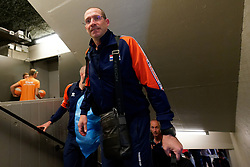 15-09-2019 NED: EC Volleyball 2019 Netherlands - Poland, Rotterdam<br /> First round group D - Poland win 3-0 / Coach Roberto Piazza of Netherlands