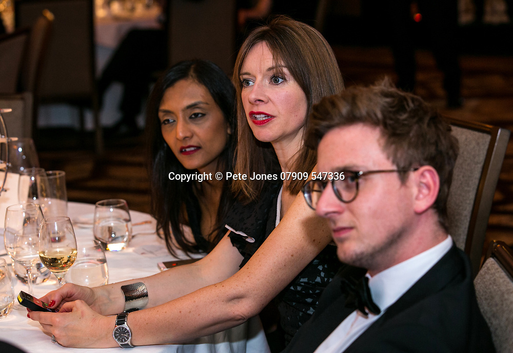 the Auras 2018;<br /> Jumeirah Carlton Tower Hotel;<br /> Cadogan Place, London;<br /> 8th March 2018.<br /> <br /> &copy; Pete Jones<br /> pete@pjproductions.co.uk