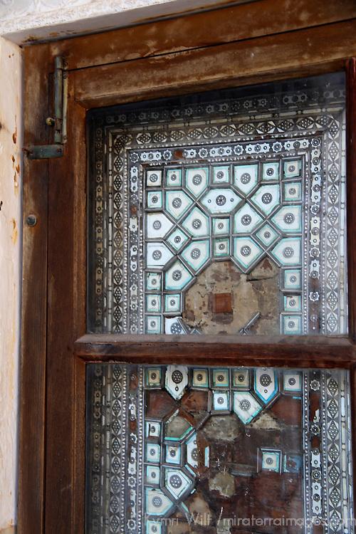 Asia, India, Amer. Window of Amber Palace.