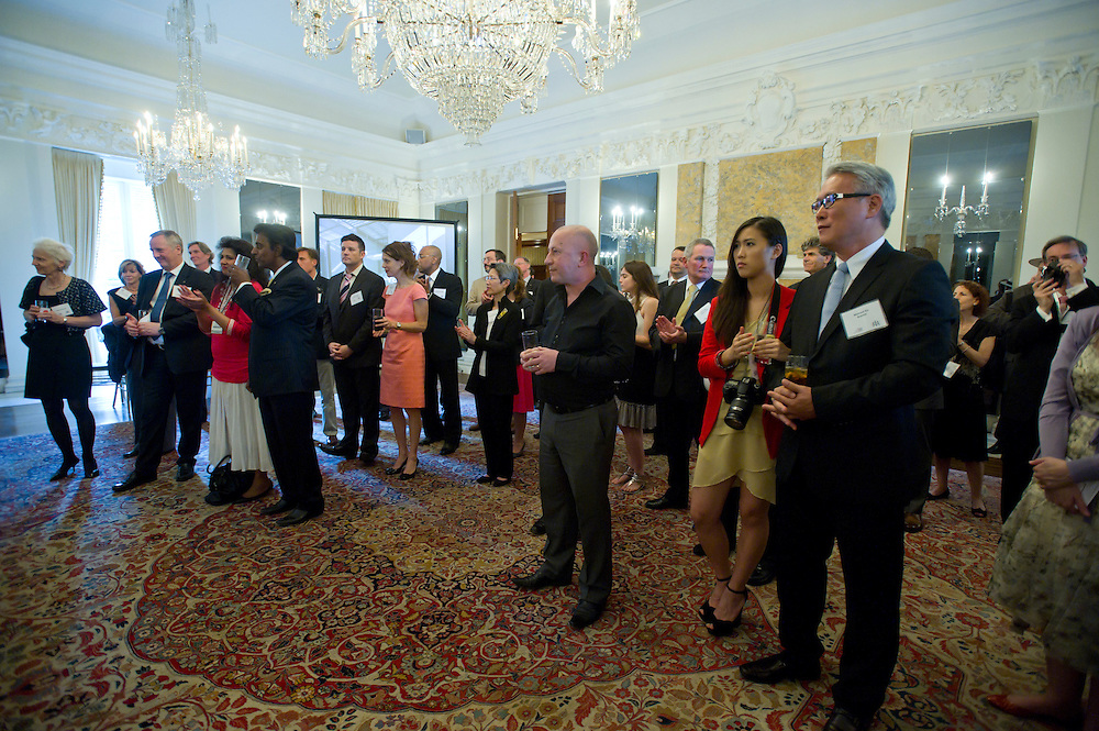 WASHINGTON, DC (May 17, 2012) -- The British Embassy in Washington, DC hosts a high end reception honoring the Royal Institute of British Architects.  Photo by Johnny Bivera