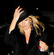 05.NOVEMBER.2007. LONDON<br /> <br /> A VERY TIRED &amp; GAUNT LOOKING KATE MOSS WHO HAS A BRUISE ON THE SIDE OF HER FACE AND HER NOSE LOOKS REALLY THIN LEAVING THE CLIFTON PUB AT 10.30PM WITH DAVINIA TAYLOR AND HEADED BACK TO DAVINIA&rsquo;S HOUSE. 10 MINUTES LATER LIAM GALLAGHER LEFT THE CLIFTON PUB AND WENT BACK TO DAVINIA&rsquo;S WITH DAVE GARDNER. THEN AT 2.00AM KATE&rsquo;S BOYFRIEND JAMIE HINCE ARRIVED WITH HIS GUITAR AND THEY PARTIED UNTILL 4.30AM WHEN A VERY DRUNK LIAM LEFT DAVINIA&rsquo;S HOUSE AND OFFERED TO FIGHT A PHOTOGRAPHER THEN GOT INTO A CAB HOME.<br /> <br /> BYLINE: EDBIMAGEARCHIVE.CO.UK<br /> <br /> *THIS IMAGE IS STRICTLY FOR UK NEWSPAPERS AND MAGAZINES ONLY*<br /> *FOR WORLD WIDE SALES AND WEB USE PLEASE CONTACT EDBIMAGEARCHIVE - 0208 954 5968*