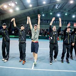 20140202: SLO, Tennis - Davis Cup, Slovenia vs Portugal, day 3