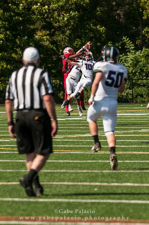 John Jay Varsity Football game at Sleepy Hollow on September 17, 2016. (photo by Gabe Palacio)