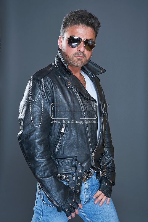 February 22, 2016. Las Vegas, Nevada.  The 22nd Reel Awards and Tribute Artist Convention in Las Vegas. Celebrity lookalikes from all over the world gathered at the Golden Nugget Hotel for the annual event. Pictured is  George Michael lookalike, Bill Pantazis.<br /> Copyright John Chapple / www.JohnChapple.com /