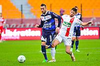 Jonathan MARTINS PEREIRA / Johann RAMARE - 10.01.2014 - Troyes / Brest - 19e journee Ligue 2<br /> Photo : Dave Winter / Icon Sport